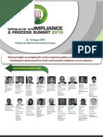 Brochure - Green Compliance _ Process Summit 2019