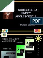 Codigo de la niñez y adolescencia