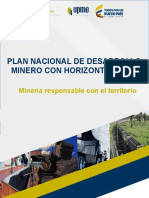 Plan Minero a 2025