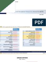 Point perubahan ACFTA 2019