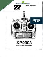 JR XP9303 Manual Pt-br
