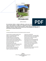 Cotización Miramonte
