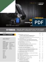 Winora Betriebsanleitung Yamaha 2016