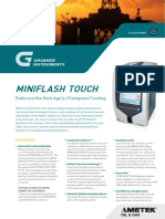 Grabner MINIFLASH TOUCH Flash Point Tester