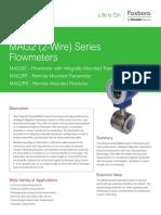 Brochure Flujo Magnetico Foxboro