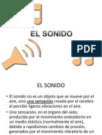 4. EL SONIDO