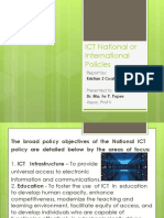 ICT National or International Policies.pptx