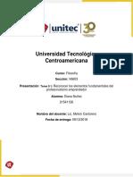 Tarea 9.1_Reconocer Los Elementos Fundamentales Del Profesionalismo Emprendedor