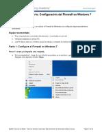 Configuración de Firewall en Windows