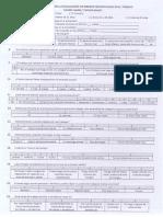 Cuestionario Para Evaluacion de Riesgos Psicosociales en El Trabajo