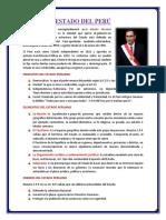 El Estado Peruano Trabajo Vi Ciclo