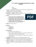 Normas de apresentação gráfica para o artigo científico.docx