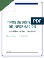 Tipos de Categorias Sistemas de Informacion
