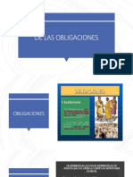 Diapositiva sobre obligaciones