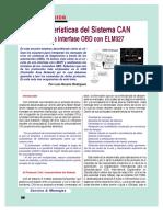 Caracteristicas Del Sistema CAN. Jag PDF