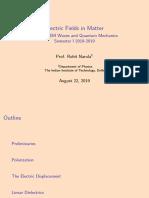 03 Electric Fields in Matter (1)