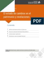 EL ESTADO DE CAMBIOS EN EL PATRIMONIO Y REVELACIONES