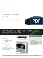 Datasheet Flatpack2 110-125V Rectifiers