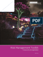 Risk Management Toolkit - August 2014