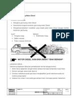 Mengetes Gas Buang Motor Diesel