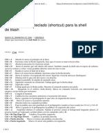 Atajos de Teclado Linux