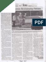 Manila Times, Aug. 27, 2019, Duterte to Filipinos Be everyday heroes.pdf