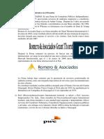 Firmas de Auditoría