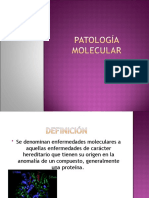 Patología molecular...drepanocitosis o anemia drepanocítica