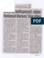 Tempo, Aug. 27, 2019, Duterte indisposed, skips National Heroes Day rites.pdf