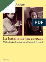 La Bátaladelascerezas-Arendt y Anders