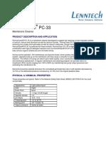 Ecolab Permaclean Pc 33 l