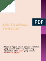 Penyuluhan Thypoid - Copy