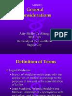 Lec 1 Gen Considerations