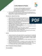 SOP - Essay Guidelines