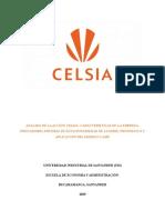 Trabajo de Econometria, Acción Celsia