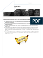 Dicas e Regras Para a Criação de Bons Diapositivos e Apresentações _ O MUNDO DA INFORMÁTICA.