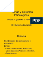 Teorías y Sistemas de la Psicología
