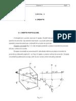 Geometrie Descriptiva CURS Nr. 4