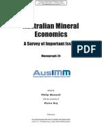 Australian Mineral Economics