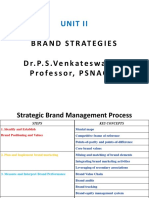 Unit II Brand Management- Brand Positioning