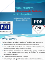Introduction to Pnf for Stroke