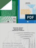 Livro Dez Anos de Pesquisa de Iniciação Cientifica No Setor Litoral