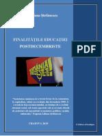 """Eugenia-Liliana Ștefănescu, """"Finalitățile educației postdecembriste"""""""