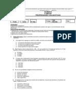 Evaluacion 2 Medios PROP. COLIGATIVAS