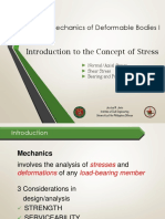 Lecture 1 Concept of Stress