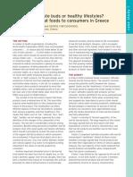 Case Study consumer behaviour in book