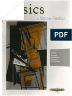 Simon Fischer - Basics_ 300 Exercises and Practice Routines for the Violin (1997, Peters Edition Ltd)