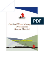 Vs 1208 Certified Waste Management Professional Reading Material
