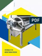 Sismat Externally Fed Drum Screen (DAT) Brochure A4_spreads