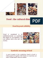 Food-The Cultural Dimension